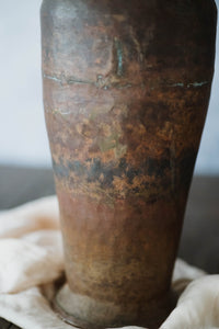 Large Antique Copper Vessel