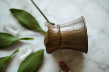 Load image into Gallery viewer, Small Antique Copper + Brass Coffee Ladle
