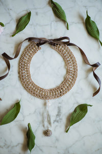 1930s Pearl Collar Necklace