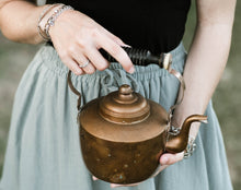 Load image into Gallery viewer, Small Copper Tea Kettle