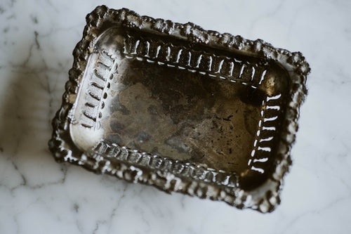 Silverplate Footed Tray