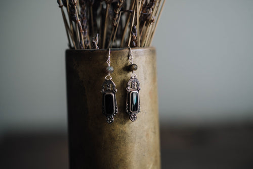 Marcasite + Sterling Earrings