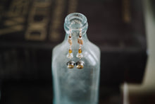 Load image into Gallery viewer, Vintage Citrine, Sterling + Gold Filled Earrings