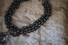Load image into Gallery viewer, Triple Freshwater Pearl Strand Necklace