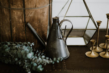 Load image into Gallery viewer, Black Hanging Tea Kettle