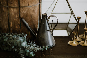 Black Hanging Tea Kettle