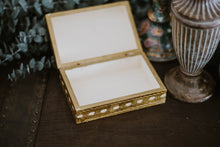 Load image into Gallery viewer, Antique Gilt Wooden Box