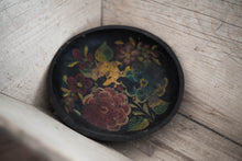 Load image into Gallery viewer, Antique Hand-Painted Wood Bowl