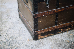 Antique Trunk from Ellis Island