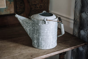 Large Vintage Galvanized Watering Can