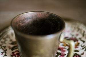 Solid Brass Cup