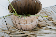 Load image into Gallery viewer, Antique Wood Bushel Basket