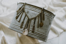 Load image into Gallery viewer, Two Tone Fringe Rutilated Quartz Necklace