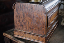 Load image into Gallery viewer, 1930s Wood Sewing Machine Cover