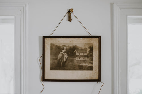 1893s George Washington Framed Lithograph
