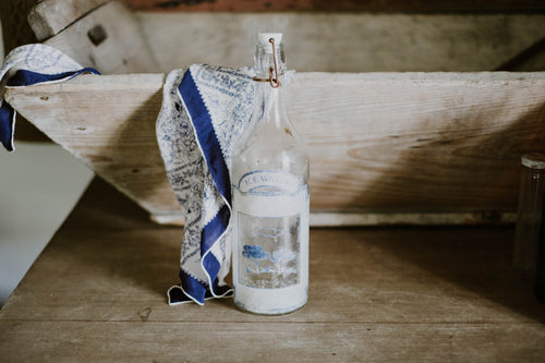 Antique Ice Water Bottle