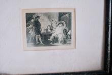Load image into Gallery viewer, 1800s Framed Etching Print