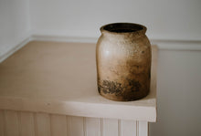 Load image into Gallery viewer, Vintage Large Rustic Ombre Jar