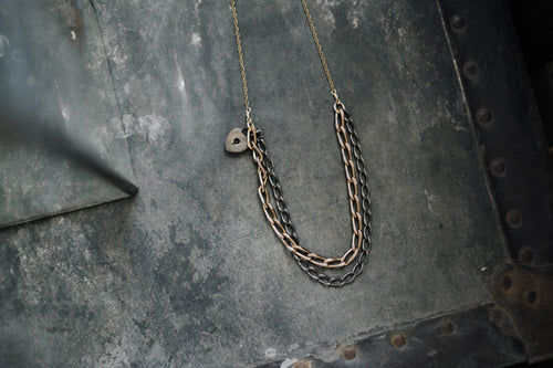 Mixed 1800s Chain Necklace