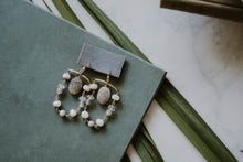 Load image into Gallery viewer, Labradorite Chandelier Earrings