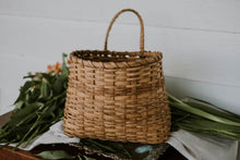 Load image into Gallery viewer, Vintage Woven Wall Basket