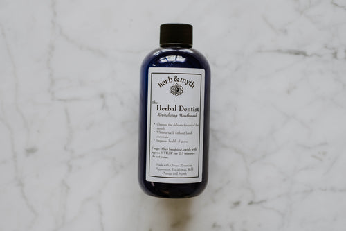 The Herbal Dentist Revitalizing Mouthwash