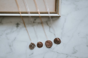 Signature Roman Coin Necklace