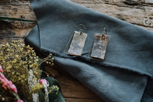 Recycled Fabric Earrings