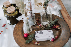 Antique Bottle Bouquets
