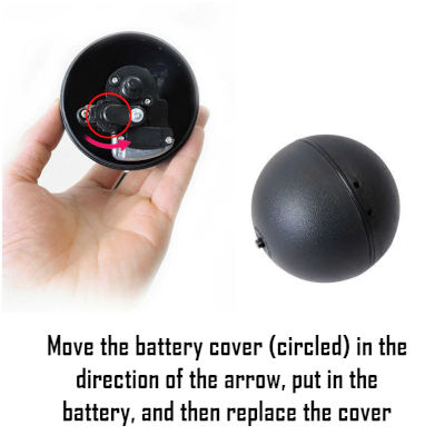 How to install the battery