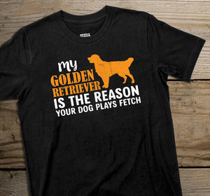 My Golden Retriever is the reason
