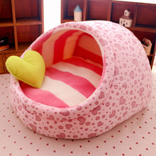 Load image into Gallery viewer, Pink Pillow Pocket Pet Bed