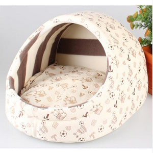 Grey Pillow Pocket Pet Bed