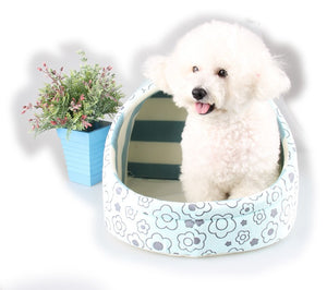 Dog inside Pillow Pocket Pet Bed