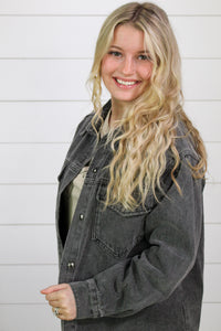 Isabelle Color Block Mock Neck