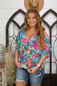Back In Time Textured Striped Tee