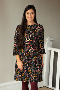 Catch Your Eye Floral Dress