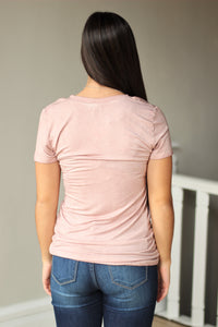 Dusty Pink Top Rated Tee