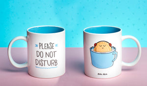 Taza - Please do not disturb - MAKUMURA