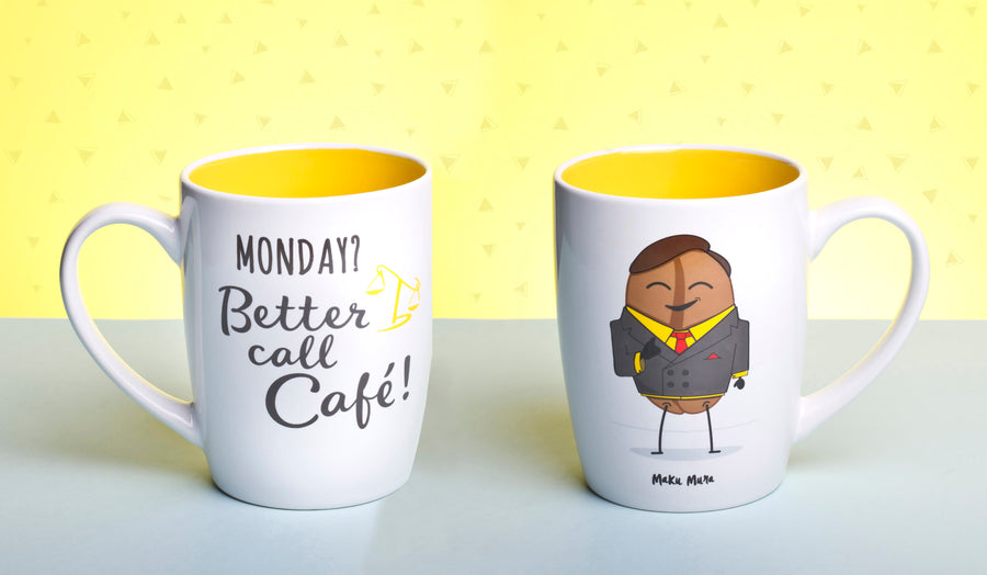 Taza - Monday? Better call café - MAKUMURA