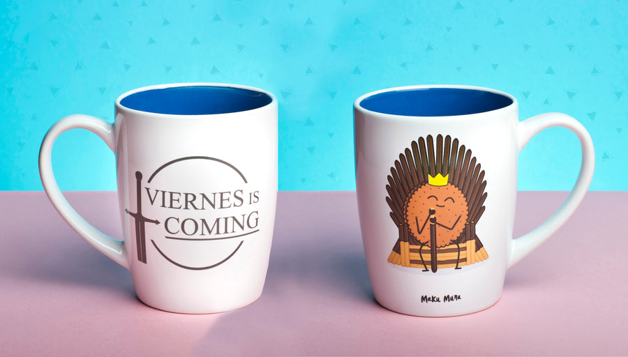 Taza - Viernes is coming - MAKUMURA
