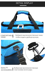 Large Sports Gym Bag With Shoes Pocket