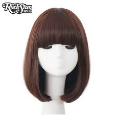Short Curly Bob Synthetic Hair Cosplay Wig