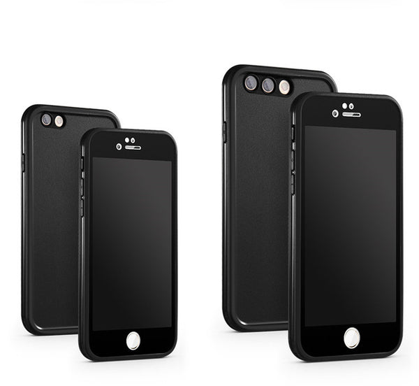 Soft Silicone Full Cover Waterproof Case - iPhone Waterproof Cases