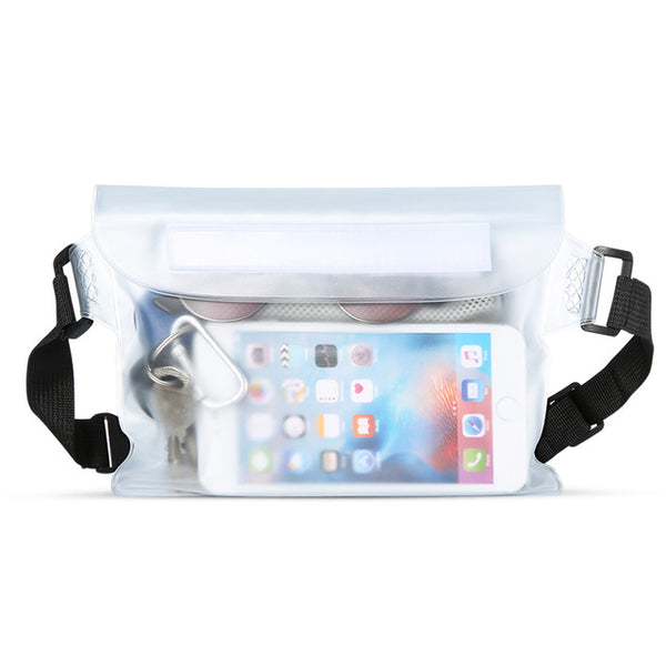Waterproof Phone Waist Bag - iPhone Waterproof Cases
