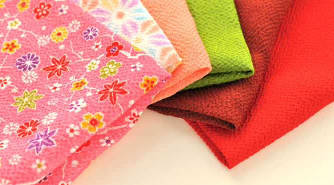 The Attraction of the Traditional Japanese Fabric 'Chirimen Cloth'