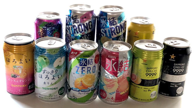 Chu-Hai has been evolving in a unique way as an alcoholic beverage in Japan