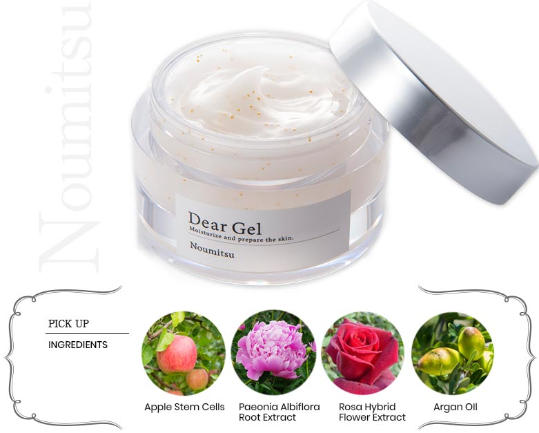Itten Dear Gel Noumitsu Ingredients Feature