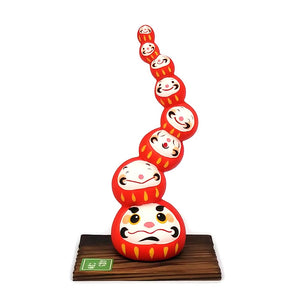Daruma Mountain, Wishing doll to achieve goals, Red