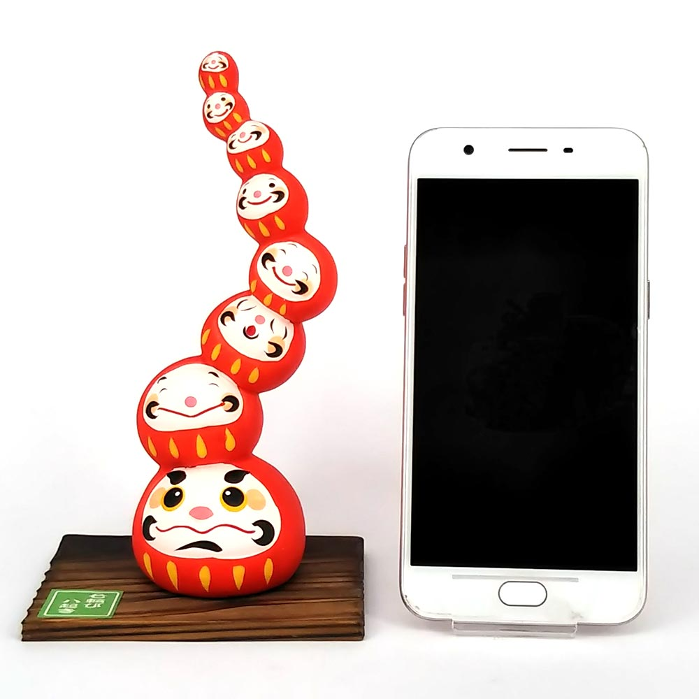 Daruma Mountain, Wishing doll to achieve goals, Compare Size Phone